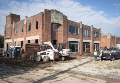 Bottling Plant development underway at former Coca-Cola plant on North Market